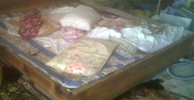 Interior de un dormitorio de la vivienda en la que ha muerto Bin Laden. | ABC News