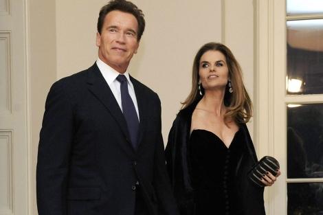 Arnold Schwarzenegger y Maria Shriver. I Reuters
