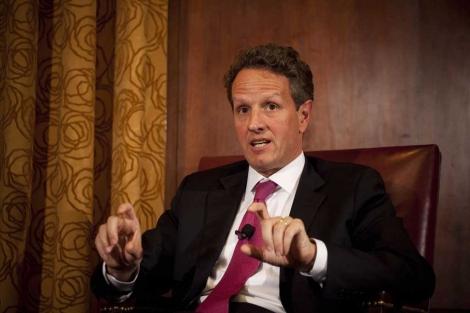 El secretario del Tesoro de EEUU, Timothy Geithner.   AFP