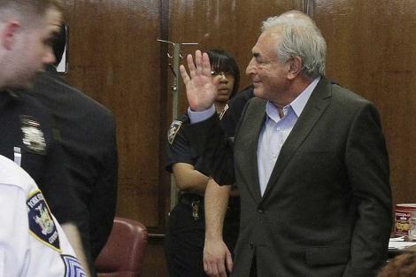 Dominique Strauss-Kahn, durante la vista. | AP