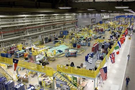 Vista de la planta de Lockheed en, Fort Worth, Texas. | Reuters