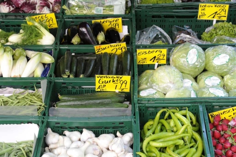 Verduras en un supermercado de Hamburgo, Alemania. |Reuters
