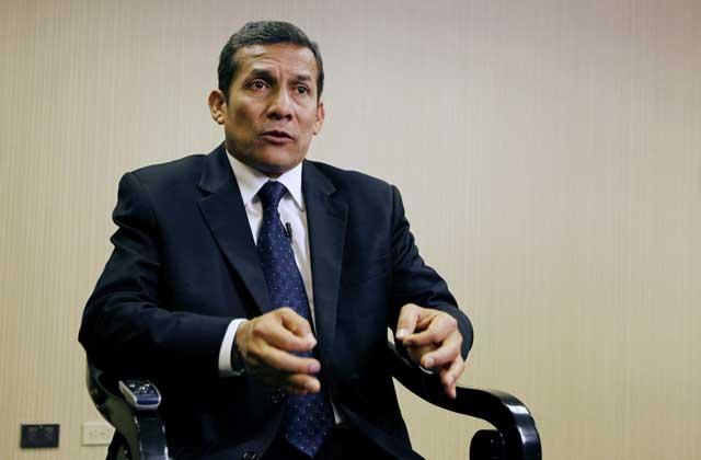El presidente electo de Perú, Ollanta Humala.   Reuters