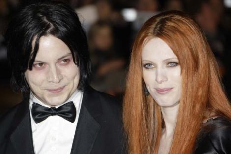 Jack White y Karen Elson. I AP