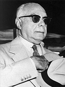 Trujillo en 1960, en su 70 cumpleaños. | AP