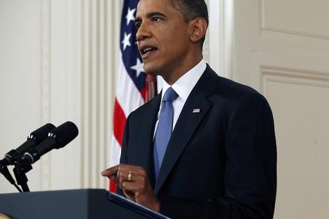 El presidente de Estados Unidos, Barack Obama, durante su último discurso. | Efe