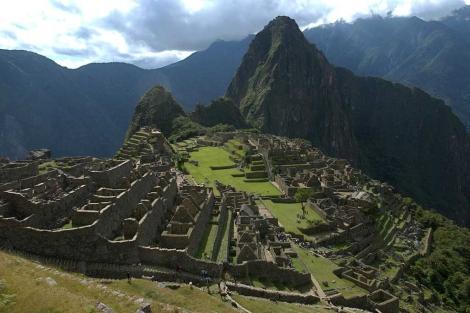 Vista panorámica de la ciudadela incaica de Machu Picchu. | Efe