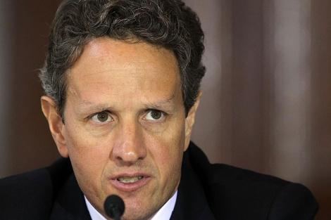 El secretario del Tesoro, Timothy Geithner, en una sesión en Washington el 18 de julio. | AFP