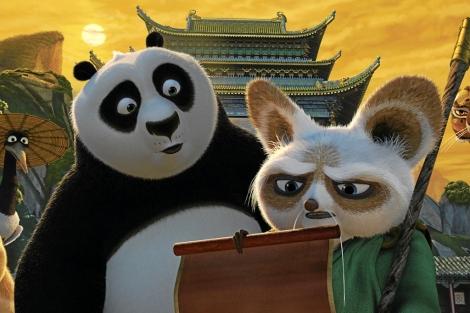 Una imagen de Kung Fu Panda.