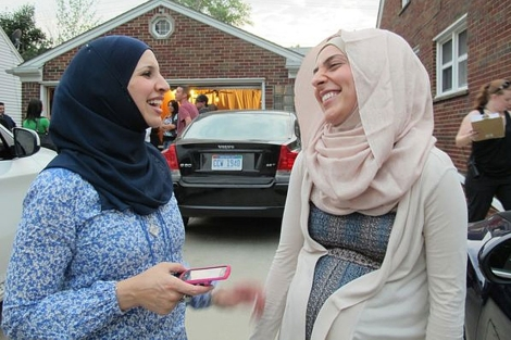 Fotograma de la nueva serie 'All American Muslims'.