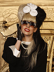 Lady Gaga posa en Taipei, Taiwan. | AP