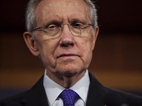El líder de los demócratas en el Senado, Harry Raid.   Efe
