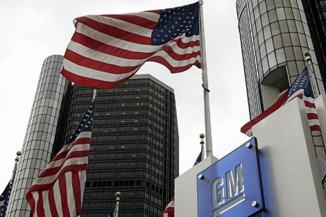 La sede de General Motors en Detroit, Michigan. | AFP