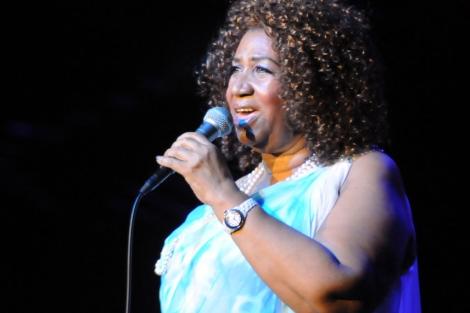 Aretha Franklin. I AP