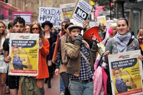 'La marcha de las putas' de Sydney.
