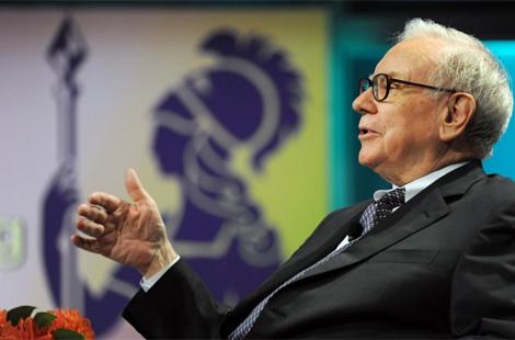 El magnate de Berkshire Hathaway durante una conferencia. | Afp