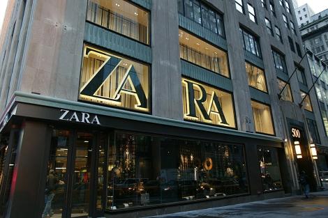 Una de las tiendas de la firma Zara. | Grupo Inditex