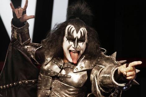 Gene Simmons, líder de la banda de rock Kiss. | AP