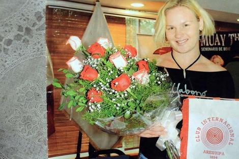 Valentina Shevchenko es siete veces campeona del mundo de Muay Thai.