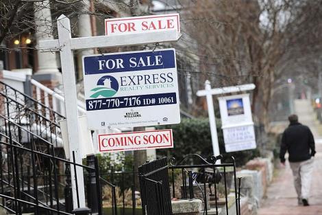 Casas a la venta en Washington tras la crisis hipotecaria. | Reuters