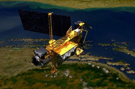 El sátelite de la NASA en una imagen de archivo.