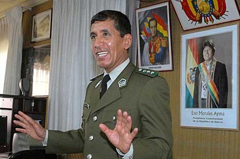 El ex general boliviano René Sanabria. | Efe