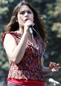 Camila Vallejo. I Efe
