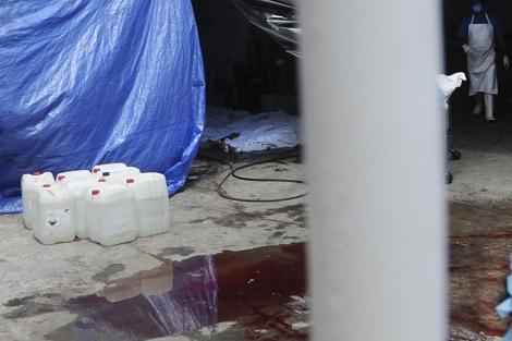 Un forense en la morgue de Veracruz el 22 de septiembre. | Reuters