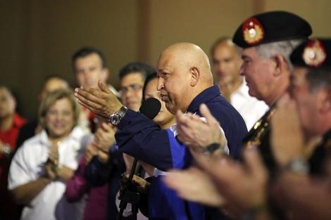 Chávez el pasado 23 de septiembre en Miraflores tras llegar de Cuba. | Efe