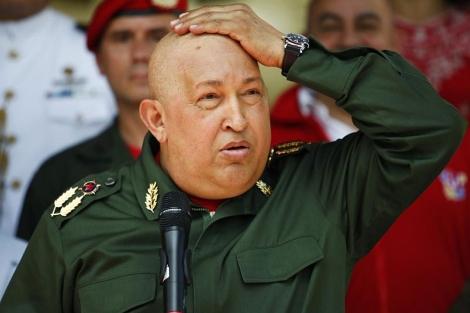 Hugo Chávez durante una reciente visita a Bolivia.| Reuters