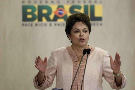 La presidenta de Brasil Dilma Rousseff. | Reuters