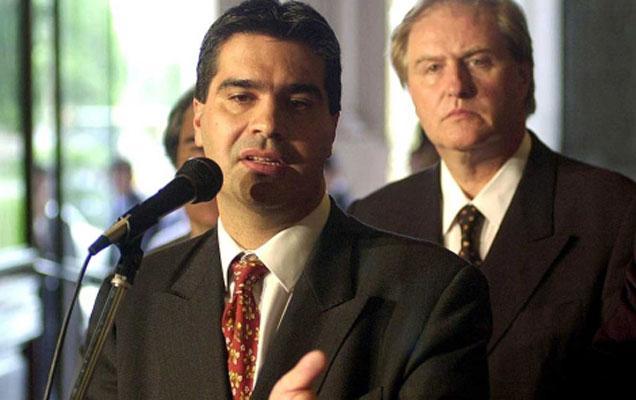 El reelecto gobernador de Chaco, Jorge Capitanich.   Efe