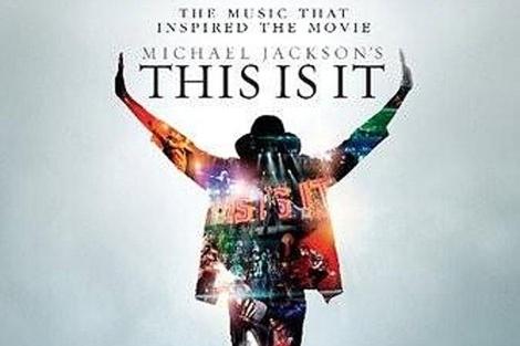 Portada del anterior disco póstumo de Michael Jackson.