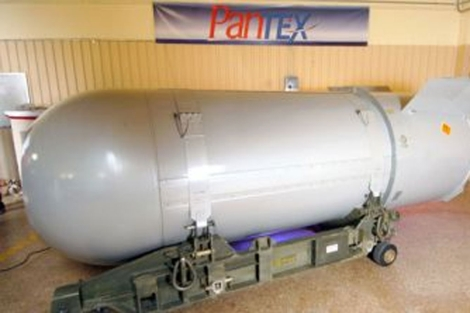 La bomba B-53 será desmantelada en Texas | AP