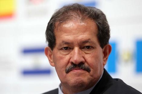 El vicepresidente de Colombia, Angelino Garzón, en la XXI Cumbre Iberoamericana. | Efe