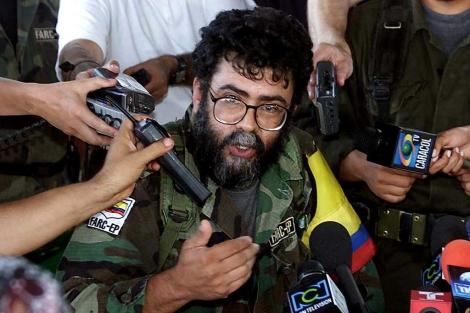 Imagen de Alfonso Cano, líder de las FARC, tomada en febrero de 2011. | Afp
