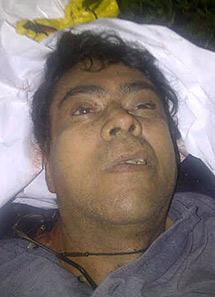 Cadáver de Alfonso Cano.   Reuters