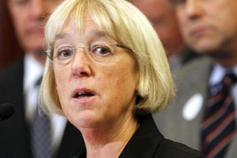 La senadora demócrata Patty Murray, una de las líderes del 'Super Comité'.   AP