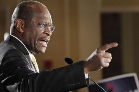 El candidato republicano Herman Cain. | Reuters