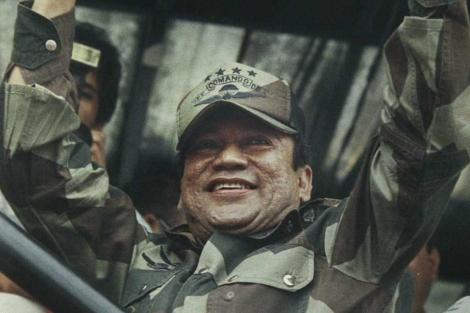 El ex dictador Manuel Antonio Noriega, en una imagen de 1988. | Ap