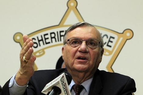 Joe Arpaio en rueda de prensa. | AP