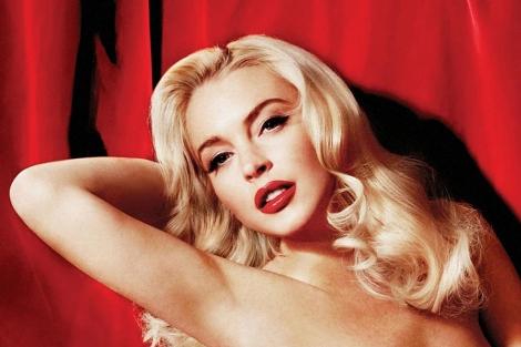 Foto de la actriz que aparecerá en el próximo número de Playboy. | Reuters