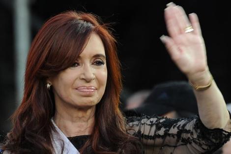 La presidenta argentina, Cristina Fernández de Kirchner. | Afp