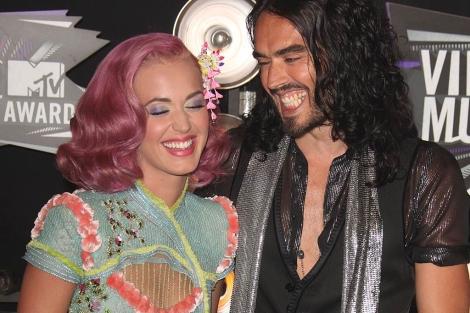 La pareja, el pasado agosto en los MTV Video Music Awards en Los Angeles. Gtres