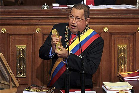 Hugo Chávez en el discurso ante la Asamblea Nacional.| AP/Fernando Llano