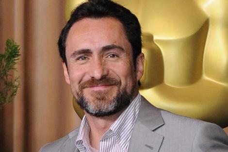 El actor mexicano Demian Bichir llega al almuerzo de los nominados a los Oscar. | Efe