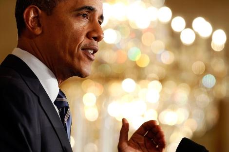 Barack Obama, durante un acto institucional. | Reuters
