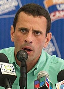 Henrique Capriles. | Afp