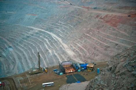 Chuquicamata, la mina de cobre a tajo abierto más grande del mundo.| Gobierno de Chile