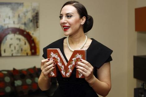 La cantante española, Mónica Naranjo, tras recibir el premio Maguey. | Efe